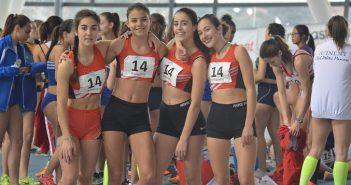 equip cadet 4x200 femení